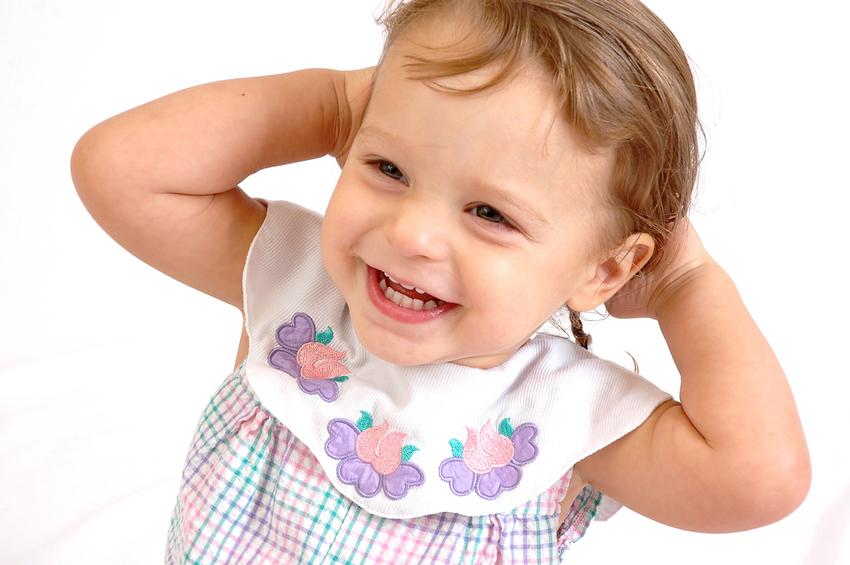 Cute girl laughing baby photos