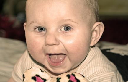 Laughing babies photos