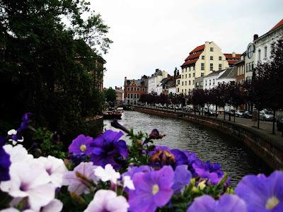 Canal en Lier, Bélgica