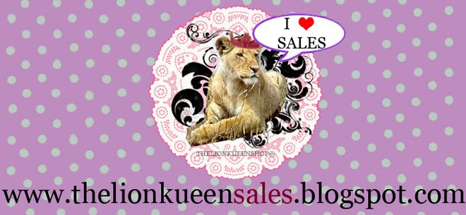 ♥ The Lion Kueen - SALES SITE ♥