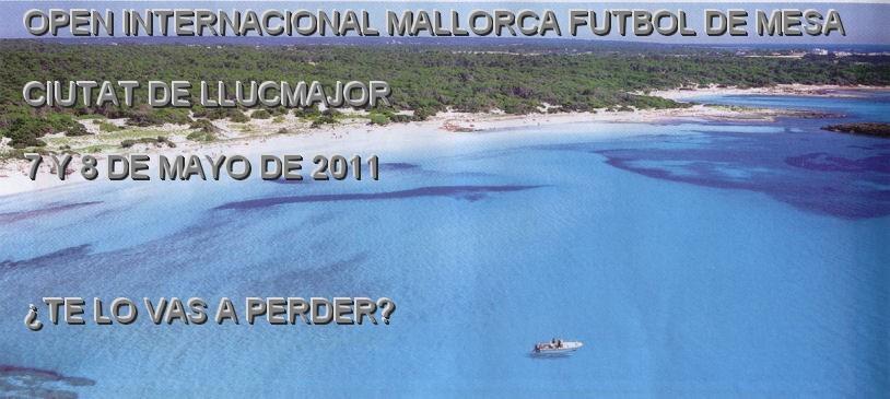 Open Internacional Mallorca Futbol de Mesa