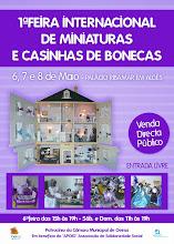 1ª Feira Internacional de Miniaturas em Portugal