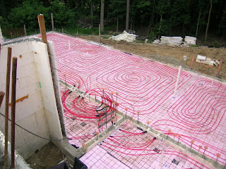 Premier comfort systems projects insulated concrete form for Icf concrete floors
