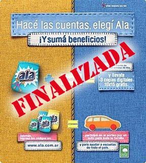 Promo Ala: hasta el 30/09/09