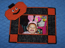 Pumpkin Picture Frame