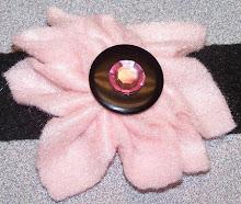 Pink Flower Choker