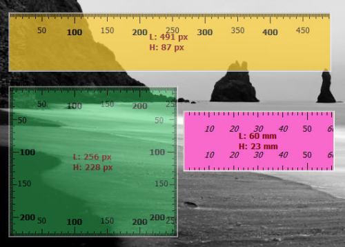 Un r gle virtuelle pour votre bureau - Regle pour mesurer ...