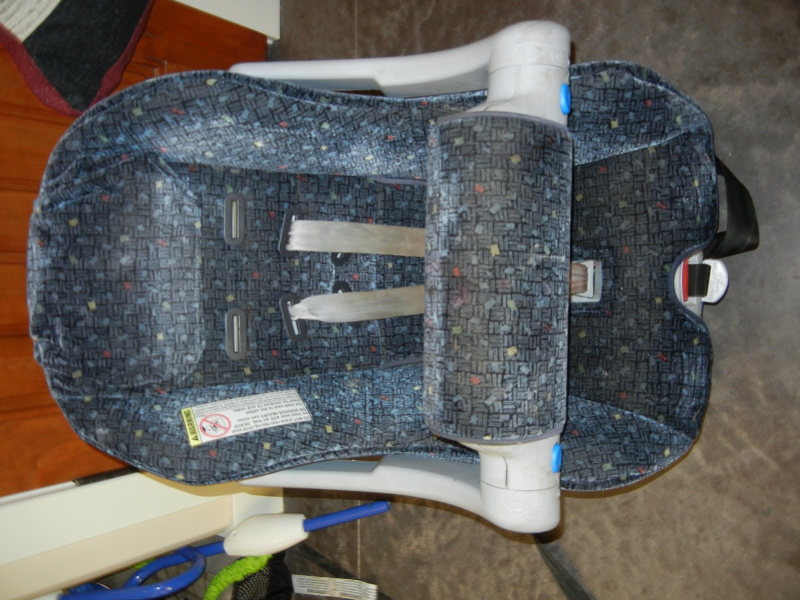Infant Car Seat Base Hangs Over Seat