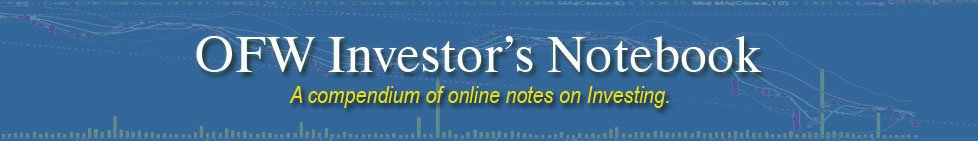 OFW Investor's Notebook