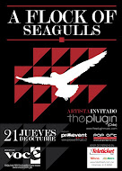 A Flock of Seagulls en Lima