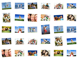 Image editing and photo scrappbooking software