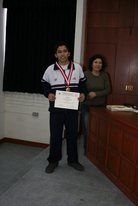 TERCER PUESTO COMPUTO GENERAL  UNIVERSIDAD NACIONAL AGRARIA LA MOLINA UNALM 2009-II