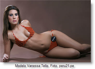 VANESSA  TELLO PERUVIAN TOP MODEL