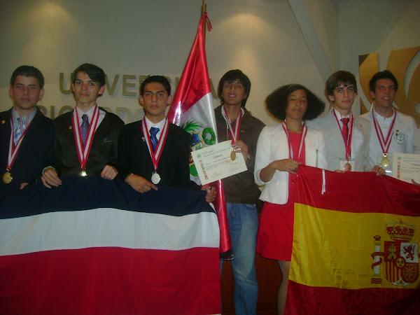 IV OLIMPIADA IBEROAMERICANA DE BIOLOGIA LIMA - PERU 2010