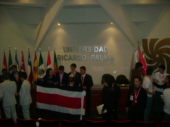 IV OLIMPIADA IBEROAMERICANA DE BIOLOGIA LIMA PERU 2010