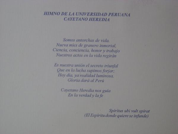 XLIX ANIVERSARIO DE LA UNIVERSIDAD PERUANA CAYETANO HEREDIA 1961- 2010