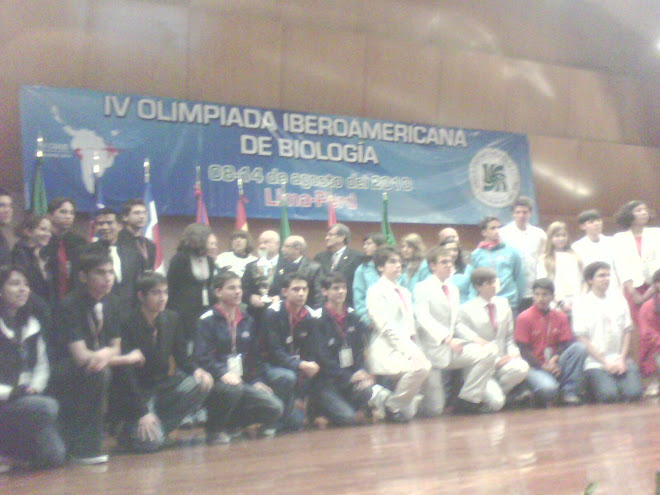 IV OLIMPIADA IBEROAMERICANA DE BIOLOGIA O.I.A.B. LIMA- PERU 2010.