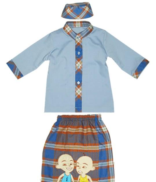 Sarung Amp Mukena Anak Set Koko Sarung Celana Peci Dan