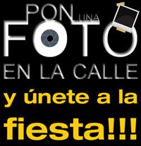 Pon una Foto en la Calle  el 18 de mayo y únete a la fiesta