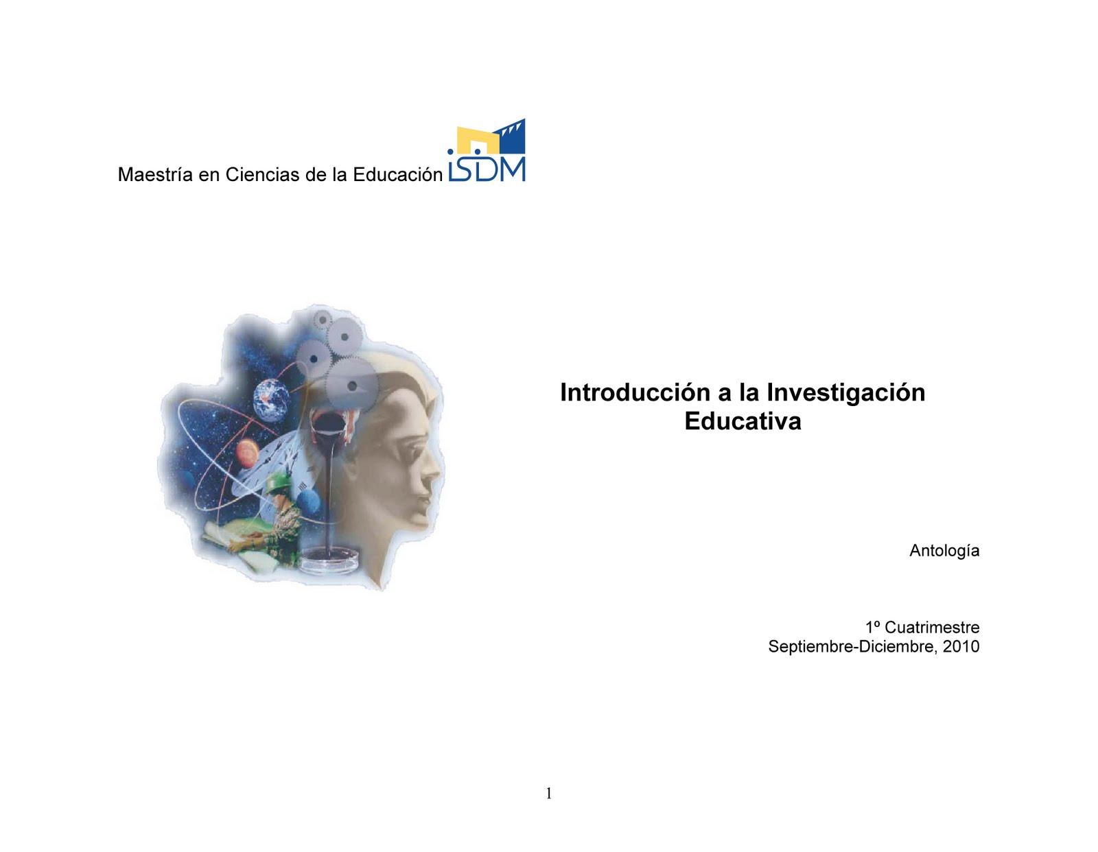 FORMANDO INVESTIGADORES: ACTIVIDAD INTRODUCTORIA- ENCUADRE