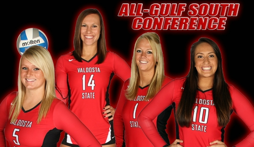 Two Oconee County Volleyball Players Make All Gulf South Conference Team