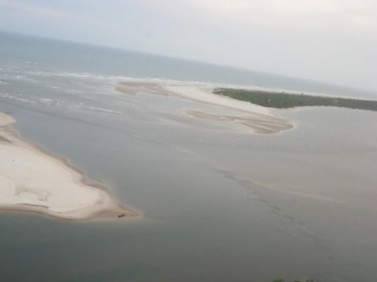Encontro do rio com o mar!!! imperdivel