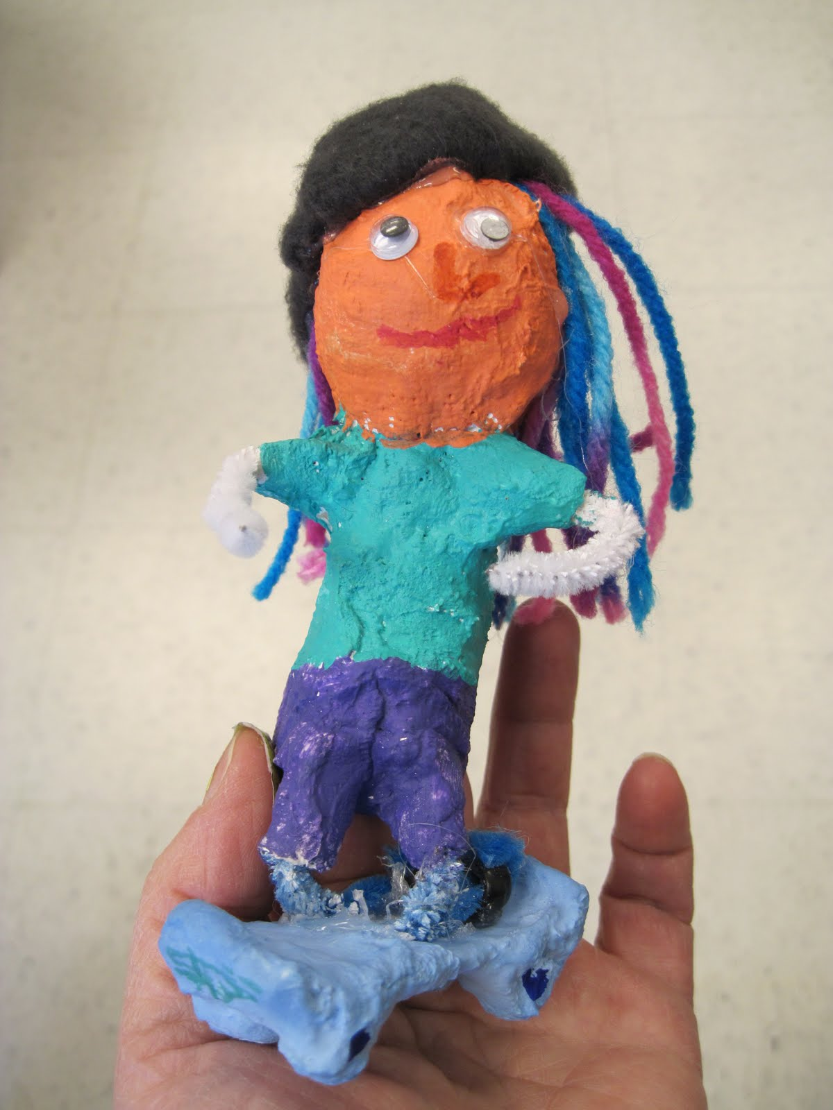 there u0027s a dragon in my art room fabulous finger puppets by grade 6