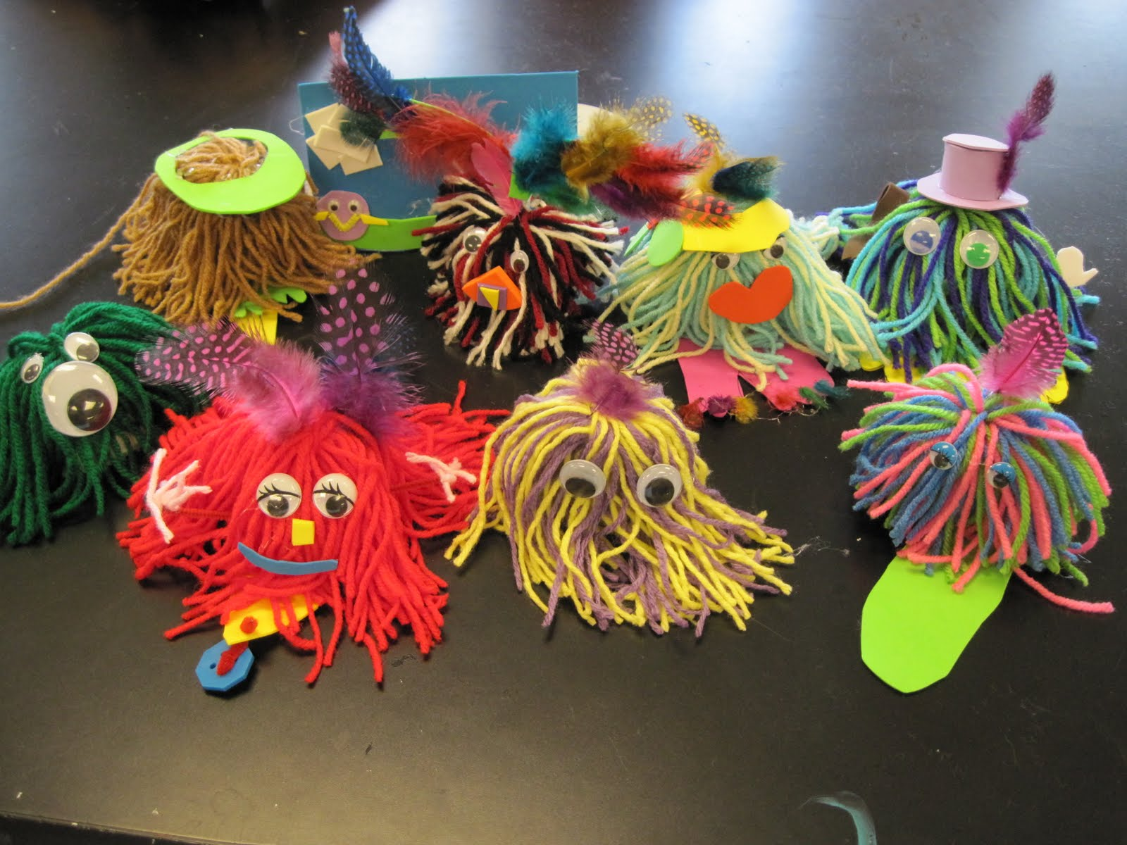 Fun And Easy Yarn Projects At PTSA Summer Camp