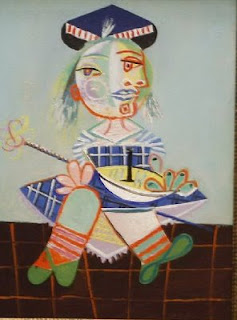 Mayia, Picasso's daughter.