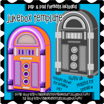 Hippiedaze scrappin 39 stuff jukebox template ptu for Jukebox labels template