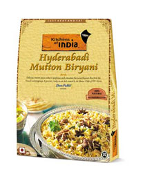 hyderabadi mutton biryani chicken chettinad from kitchens of india