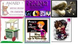 Premios concedidos a este blog