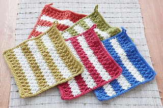 FREE KNITTING PATTERNS BREAST CANCER DISHCLOTH - VERY SIMPLE FREE KNITTING PA...