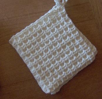 VTG CROCHET PATTERN MAKE DISH TOWEL TOPPER | eBay