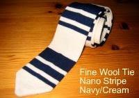 Nick Bronson Fine Wool Tie - Nano Stripe