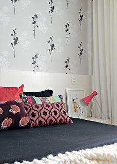 papel de parede em quarto imagens