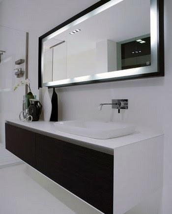 Comment choisir un miroir de salle de bain meuble et decoration de salle de - Comment coller un miroir de salle de bain ...
