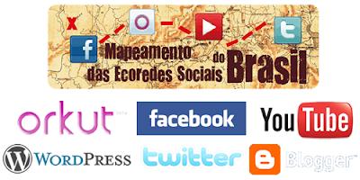 Mapeamento das Ecoredes Sociais do Brasil