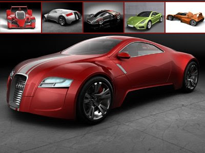 tuned cars wallpaper. Cars which are not real, from 3D models but such modern and looks strength,