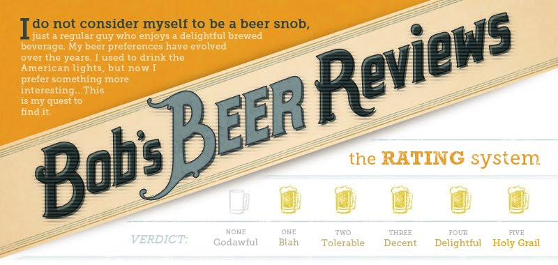 Bob's Beer Reviews