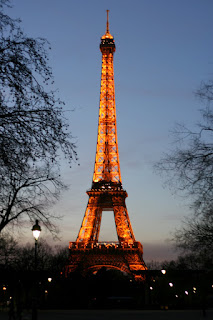 Paris at dusk by lawhawk (c) 2007
