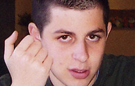 Gilad Shalit - photo via Wikipedia and the Shalit family
