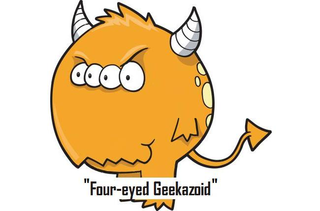Four-eyed Geekazoid