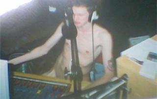 Jonny Blair full nude on the radio
