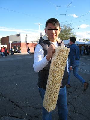家常便饭 gigantic bag of popcorn