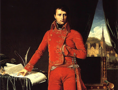 NAPOLEON BONAPARTE BY INGRES