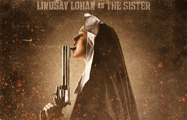 lindsay lohan machete picture. Lindsay Lohan will be put into