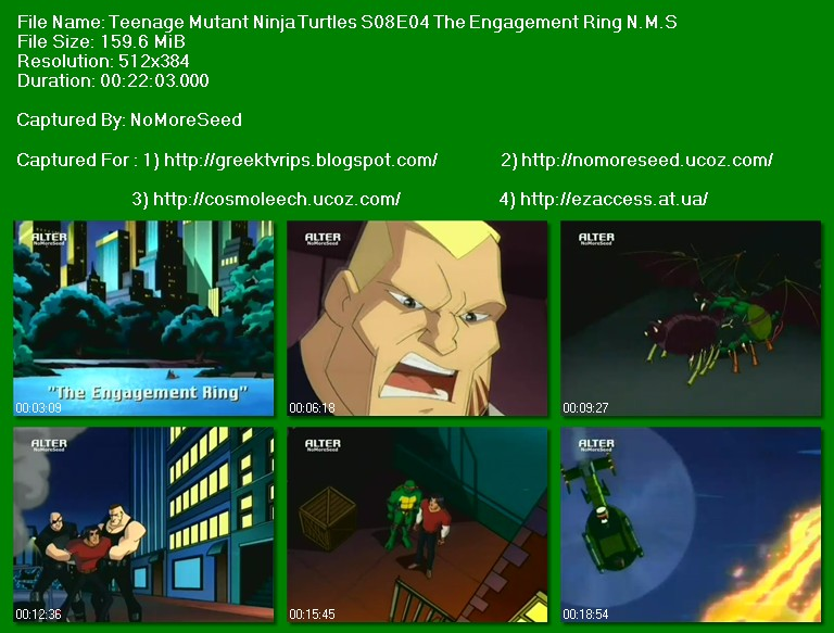 Χελωνονιτζακια - teenage mutant ninja turtles s08e04 the