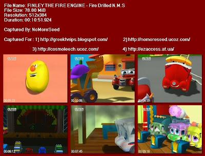 ΦΙΝΛΕΫ ΤΟ ΠΥΡΟΣΒΕΣΤΙΚΟ - FINLEY THE FIRE ENGINE- Fire Drilled N.M.S. (ALTER)