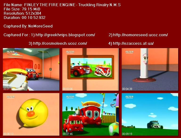 ΦΙΝΛΕΫ ΤΟ ΠΥΡΟΣΒΕΣΤΙΚΟ - FINLEY THE FIRE ENGINE -  Truckling Rivalry N.M.S. (ALTER)